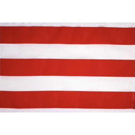 Kit 4 Jogos Americanos Listrado Vermelho da Charlô 45cmx30cm