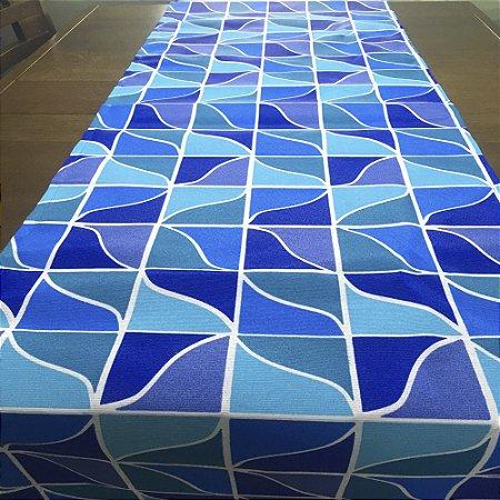 Trilho de Mesa Mosaico Céu 45cm x 1,50cm