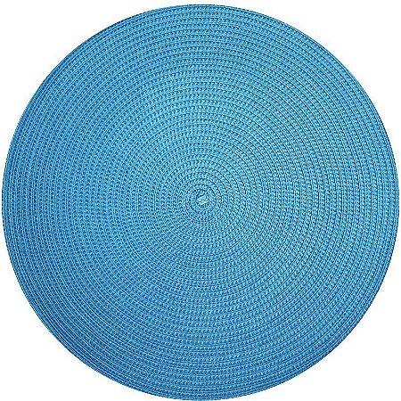 Kit 4 Sousplats YOI Azul Turquesa 38cmx38cm