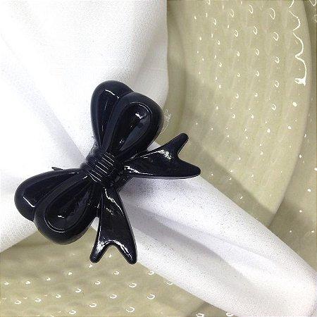 Kit 4 Porta Guardanapo Lacinho Black Tie