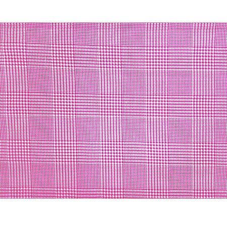 Kit 4 Jogo Americano Xadrez Docura Pink da Charlô