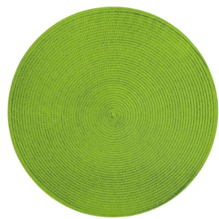 Kit 4 Sousplats YOI Verde Limão 38cmx38cm