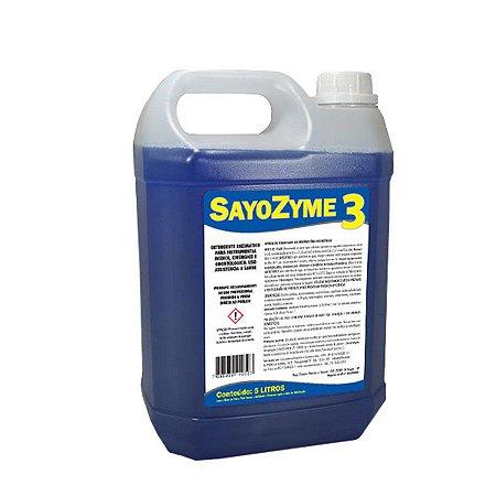 Sayozyme - Detergente enzimático 3 enzimas - 5 litros