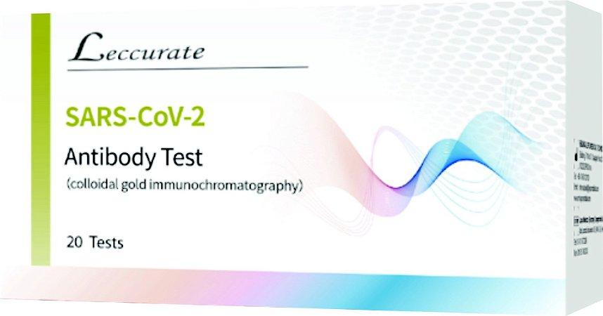 Teste de anticorpo SARS-COV-2 - Caixa com 20 testes