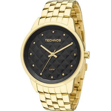 Relógio Technos Dourado Masculino