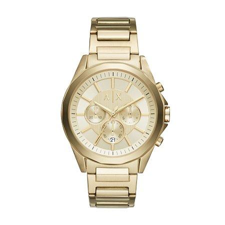 Relógio Armani Masculino Dourado
