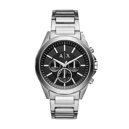 Relógio Armani Masculino Prata