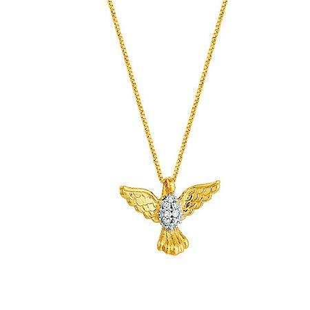 Gargantilha Ouro Divino Diamantes