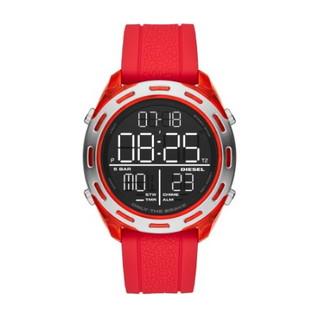 Relógio Diesel Masculino Vermelho