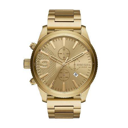 Relógio Diesel Masculino Dourado