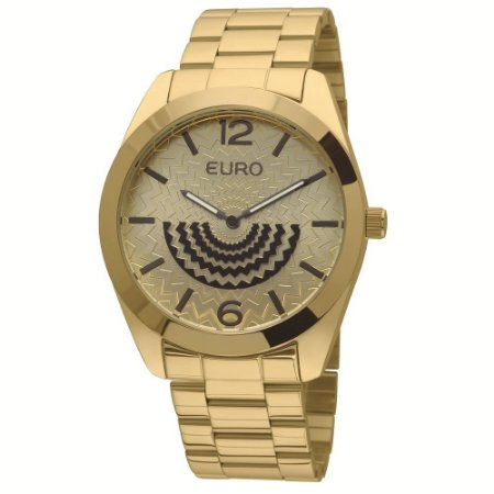 Relógio Euro Femino Dourado
