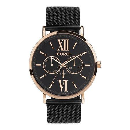 Relógio Euro Femino Preto