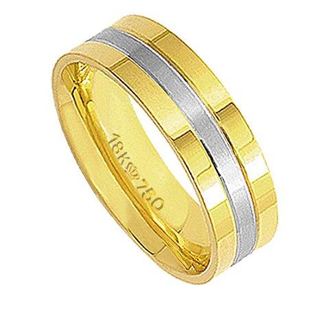 Aliança Ouro 18K C286R