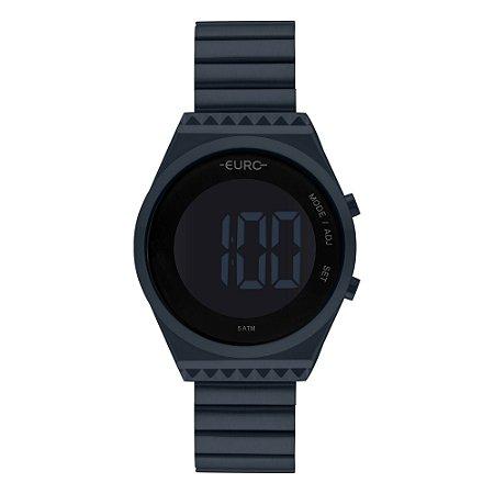 Relógio Euro Azul