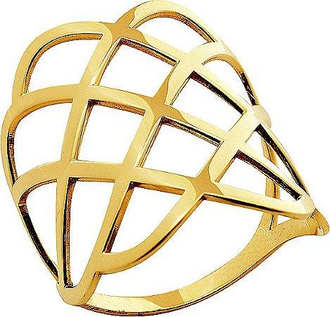 Anel Ouro Aramado