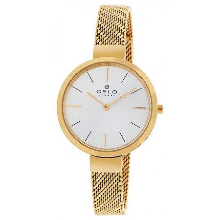 Relógio Oslo Dourado