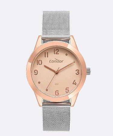 Relógio Condor Color Rosê