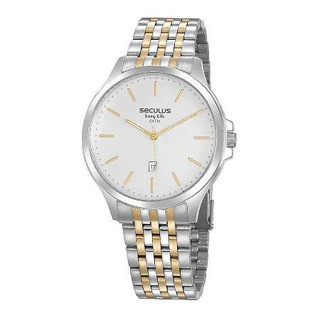 Relógio Seculus Bicolor