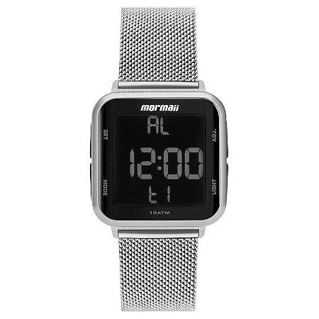 Relógio Mormaii Digital Prata