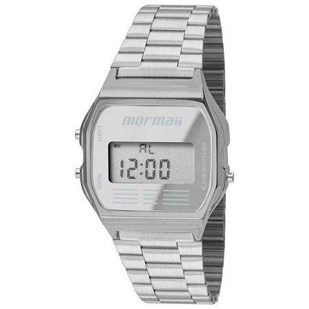 Relógio Mormaii Vintage Prateado