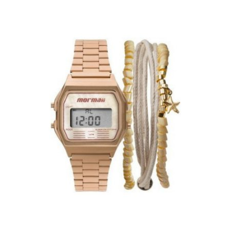 Relógio Mormaii Vintage Rosê
