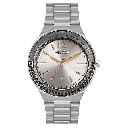 Relógio Euro Prateado