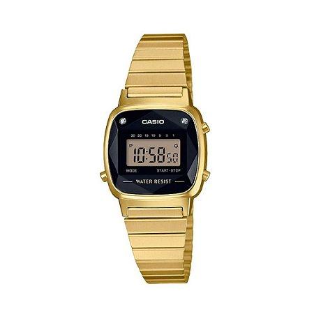 Relógio Casio Dourado Digital