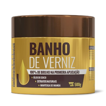 Máscara Banho de Verniz 500gr