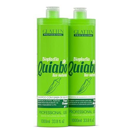 Escova Progressiva Bioplastia de Quiabo 1L - 2 Passos