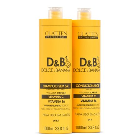 Kit Dolce & Banana 2000ml