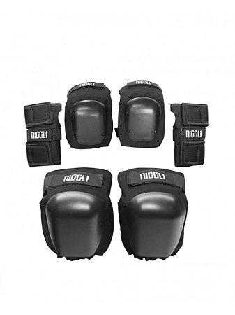 Kit de Proteção Semi-pro Completo Niggli Pads - Tamanho Único