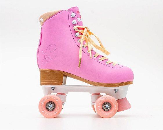 Patins Quad Hd Inline Cherry Rosa Pink - Rodas 54mm 82a