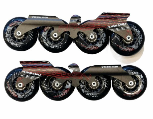 Base Flying Eagle F4 Completa Para Patins Inline - 80mm/85a
