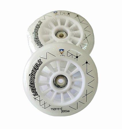 3 Rodas LED Flying Eagle Lazer Wheelz Led Inline 110mm/85a Colorida