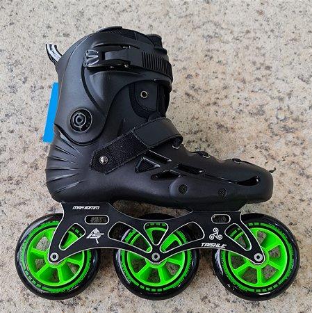 Patins Micro Skates MT3 customizado - 110mm 85a Abec 11