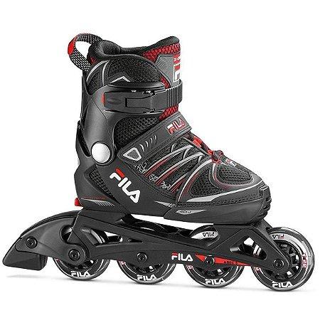 Patins Fila Skates Infantil X-one Boy F20 - Ajustável