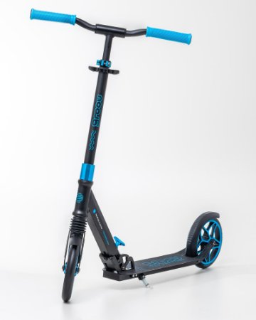 Scooter Groov patinete Dobrável - rodas 200mm C/ suspensão - Azul