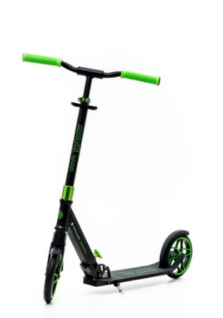 Scooter Groov patinete Dobrável - rodas 200mm C/ suspensão - Verde