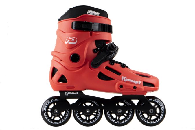 Patins HD Inline Evolution Koncept Edição Limitada - Urban Rodas 80mm