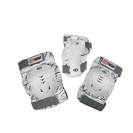 Kit de Proteção Traxart DK-619 Branco