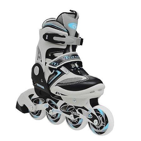 Patins Traxart I.roller - Azul / Ajustável