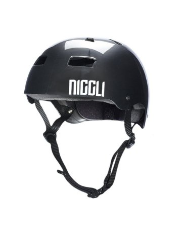 Capacete Niggli Pads Iron Profissional Light - Titanium