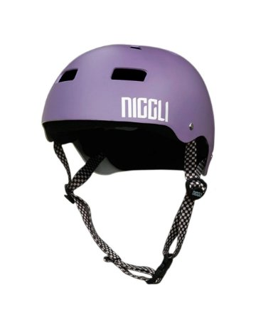 Capacete Niggli Pads Iron Profissional - Lilás Fosco