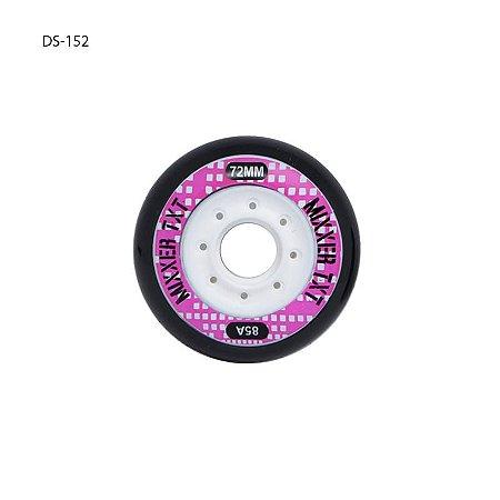 Rodas Traxart Mixxer Rosa - 72mm - 4 rodas