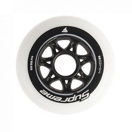 Rodas Supreme Rollerblade 90mm / 85a  (8 rodas)