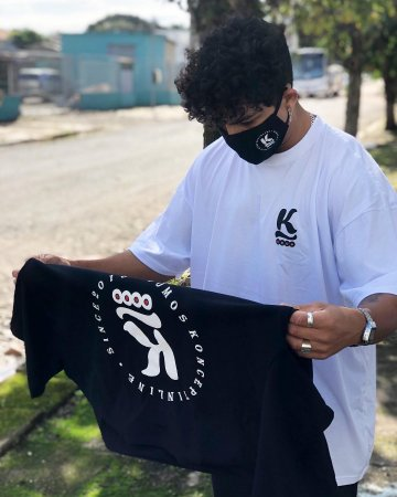 Camiseta Koncept inline - Edição Limitada / BRANCA