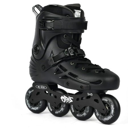 Patins Micro MT Plus Black - Preto / 80mm 85a