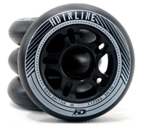 4 Rodas  80mm 85a Hd Inline - FAST