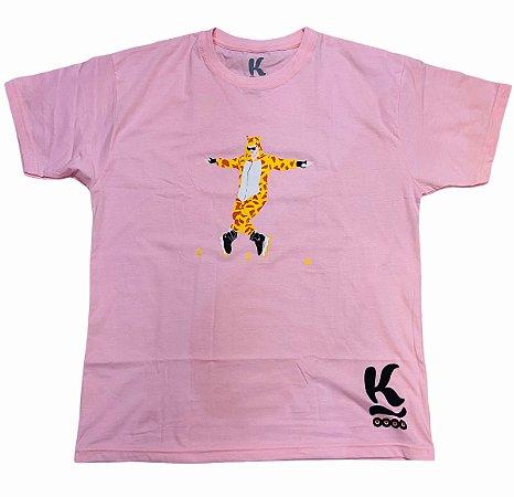 Camiseta Jeeh Vieira - Jeerafa Rosa