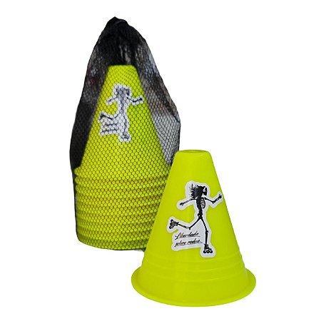 Cones Liberdade sobre rodas Jeeh Vieira para slalom - várias cores